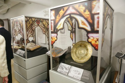 Gothic Revival Medieval vs. Modern, an exhibit at St. James Cathedral, Cathedral Centre, Toronto, Canada.