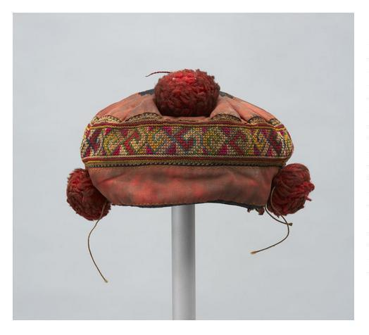 Hmong hat, 1930-1970. Textile Museum of Canada, Toronto.